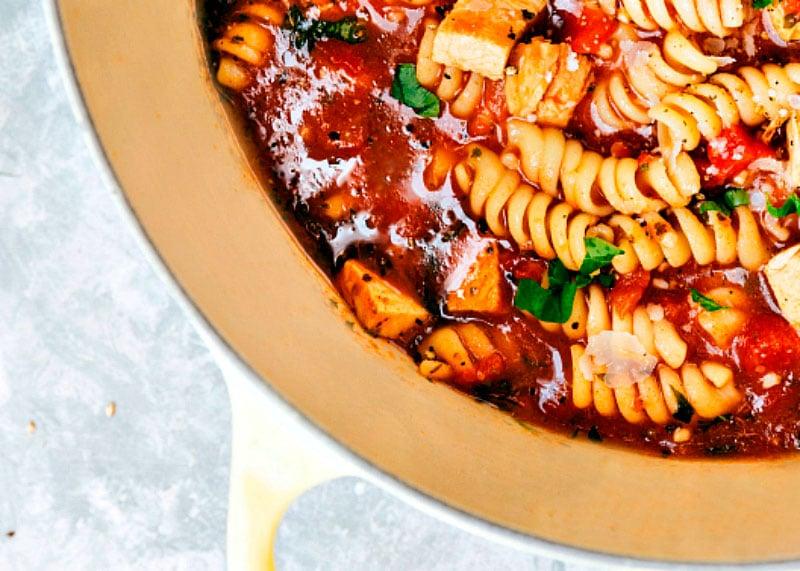 Рецепт куриного супа с пармезаном фото