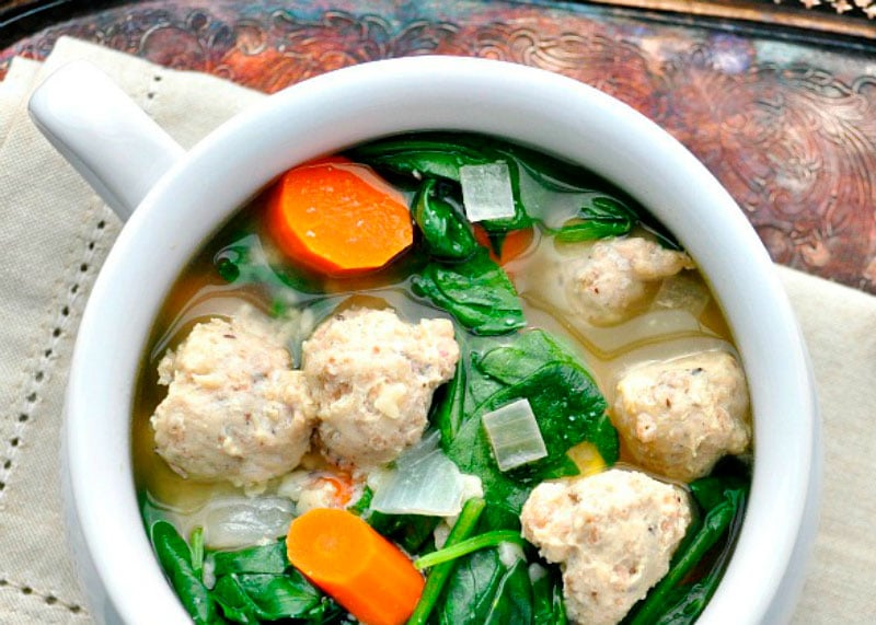 Свадебный суп минестра маритата фото