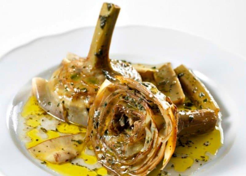 Артишоки по-римски рецепт фото