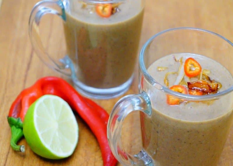 Рецепт грибного супа с кокосовым молоком фото