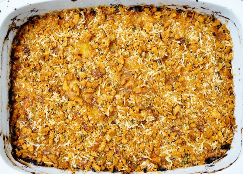 Макароны с сыром аль форно фото