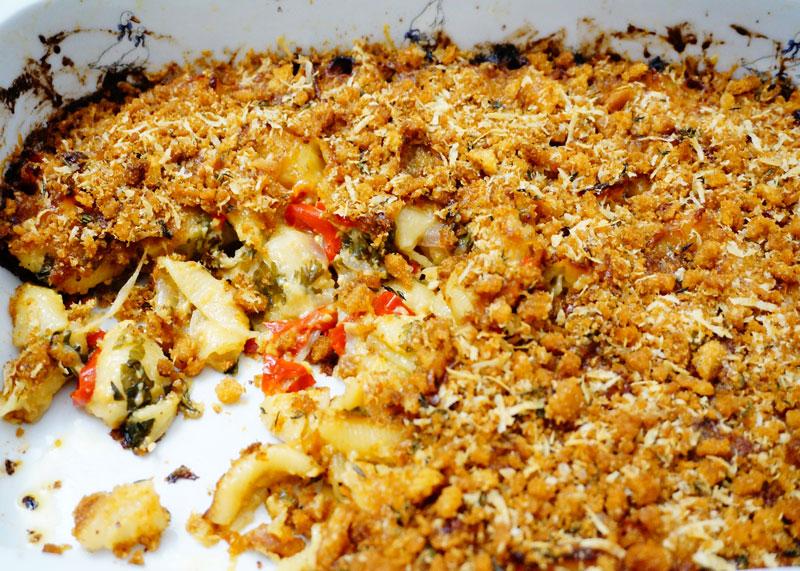 Макароны с сыром аль форно рецепт фото