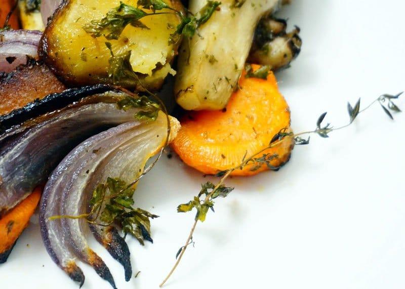 Рецепт моркови с грибами и картофелем фото