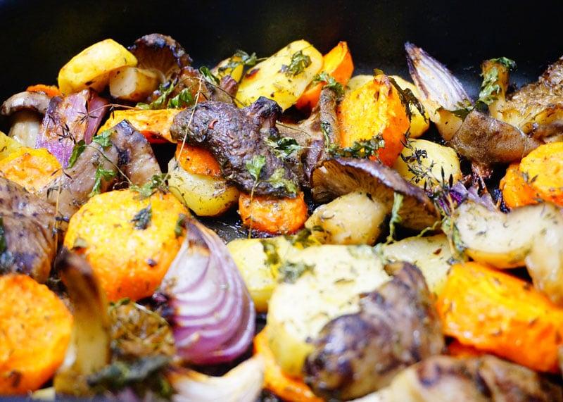 Приготовление моркови с грибами фото