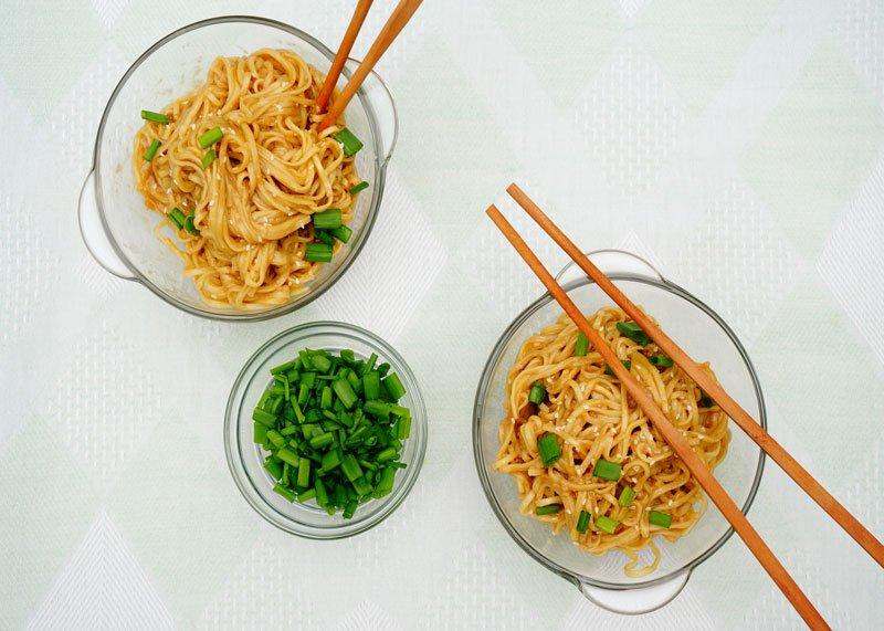 Острая лапша по-сычуаньски рецепт фото