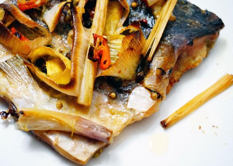 Рецепт рыбы в тайском стиле фото