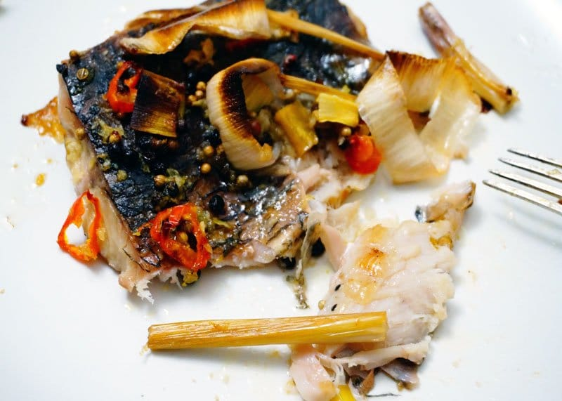 Рыба в тайском стиле приготовление фото