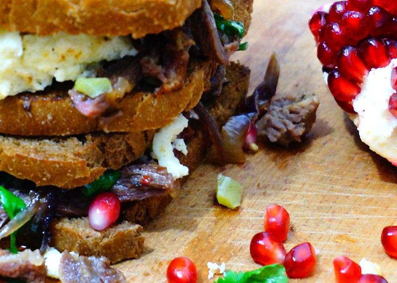 Рецепт сэндвичей Тини фото