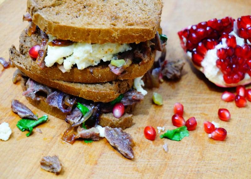 Приготовление сэндвичей Тини фото