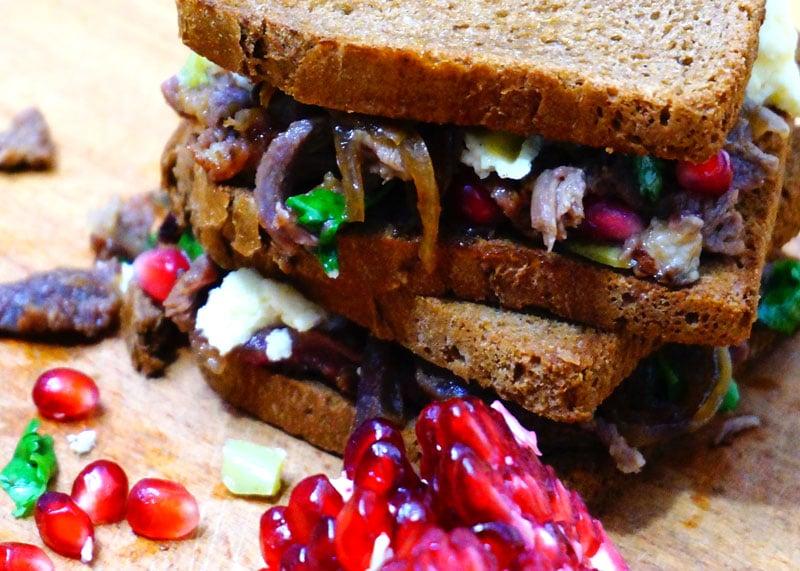 Сэндвичи Тини с бараниной фото