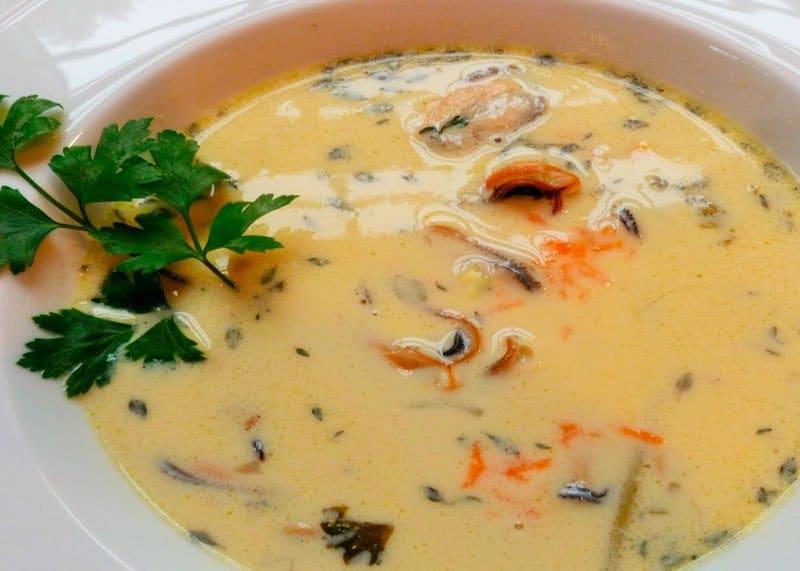 Суп с мидиями Билли Би фото