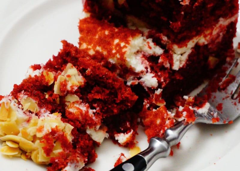 Рецепт торта Красный бархат фото