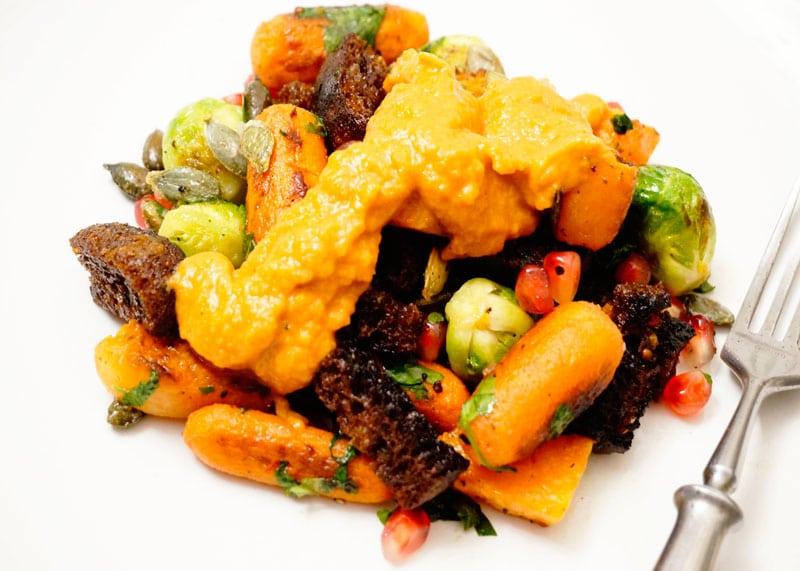 Рецепт мексиканского салата из брюссельской капусты фото