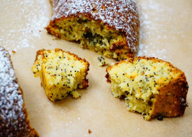 Рецепт кекса из миндальной муки с апельсинами фото