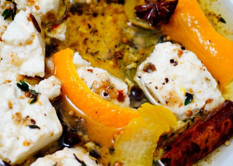 Рецепт пряного козьего сыра фото
