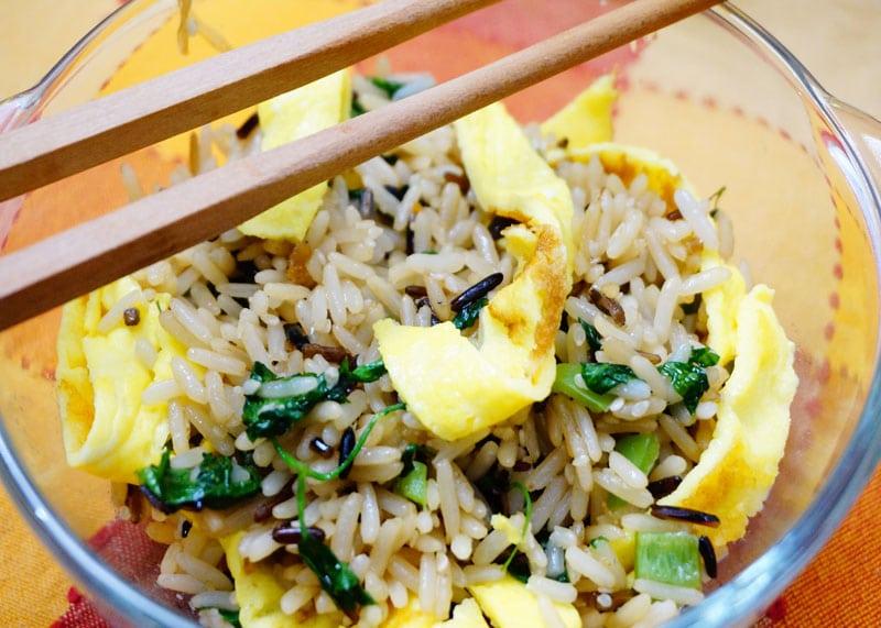 Рецепт риса с яйцом по-корейски фото
