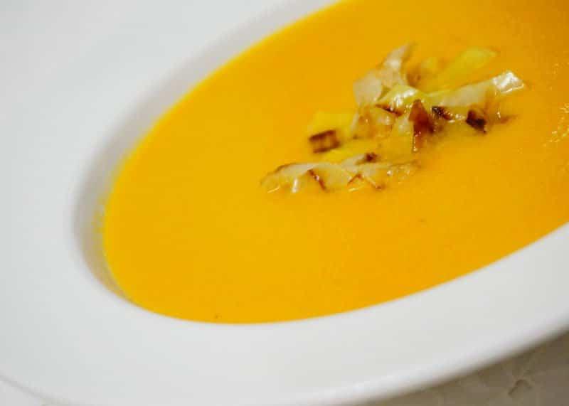 Рецепт супа из моркови и хариссы фото