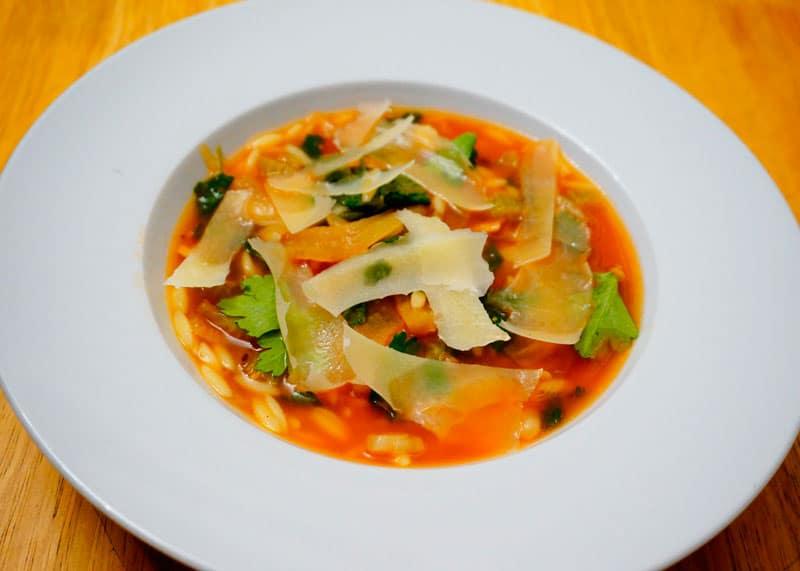 Суп с орзо и фенхелем рецепт фото