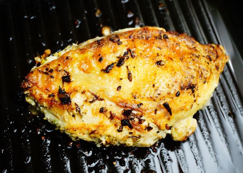 Цыпленок по-чикагски фото