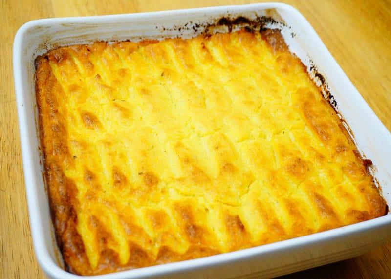Рецепт запеченного картофельного пюре фото