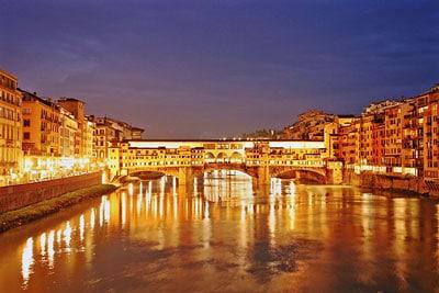 Мост понте-веккьо фото