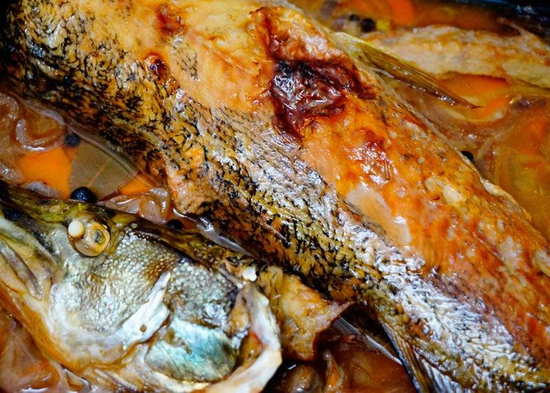 Фаршированная рыба фото