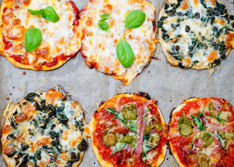 Итальянские пиццетты рецепт фото