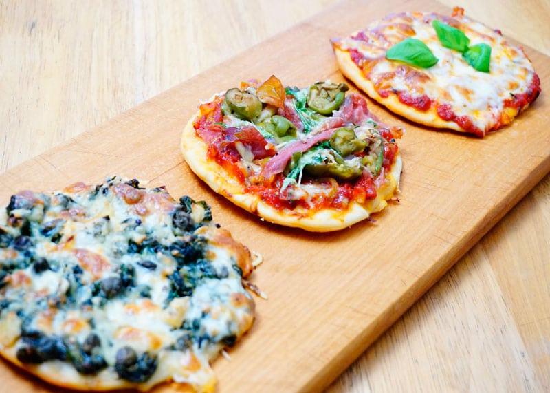 Итальянская пиццетта фото