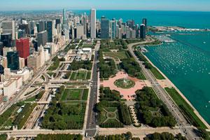 Парк Гумбольд Чикаго фото