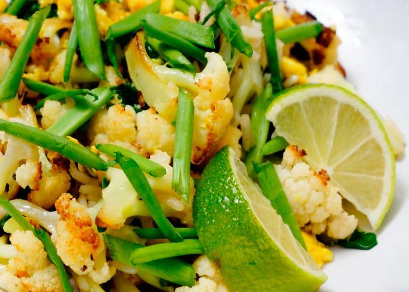 Рис с цветной капустой фото