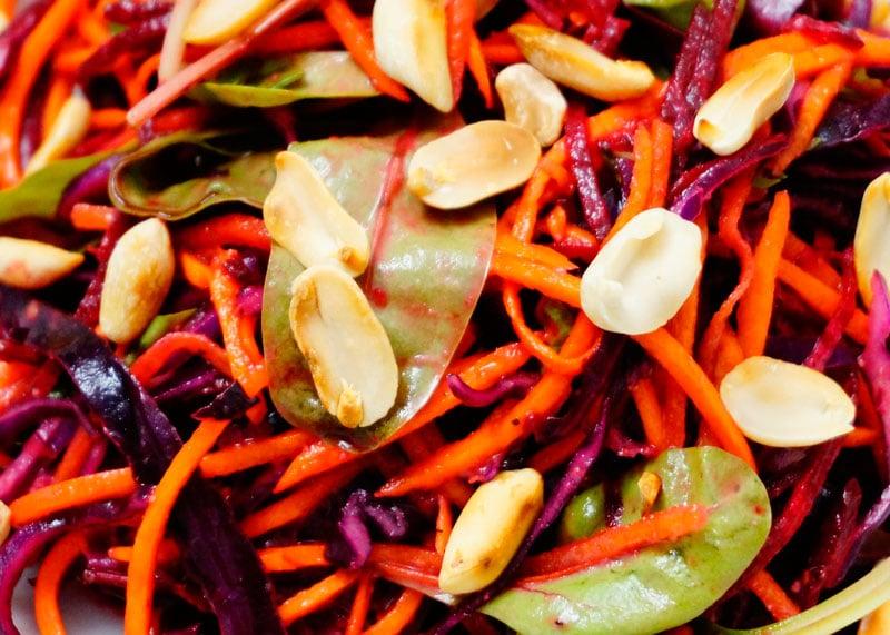 Рецепт салата из капусты, моркови и свеклы фото