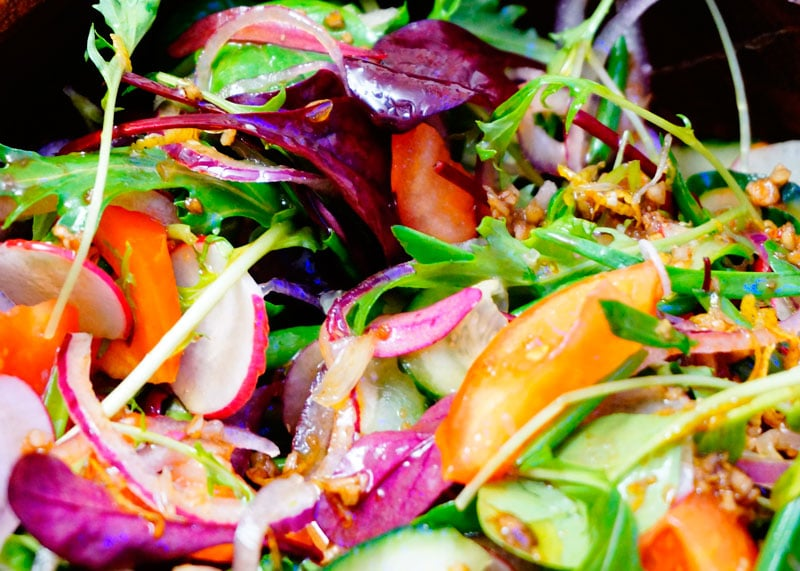 Рецепт салата из помидоров и зелени фото