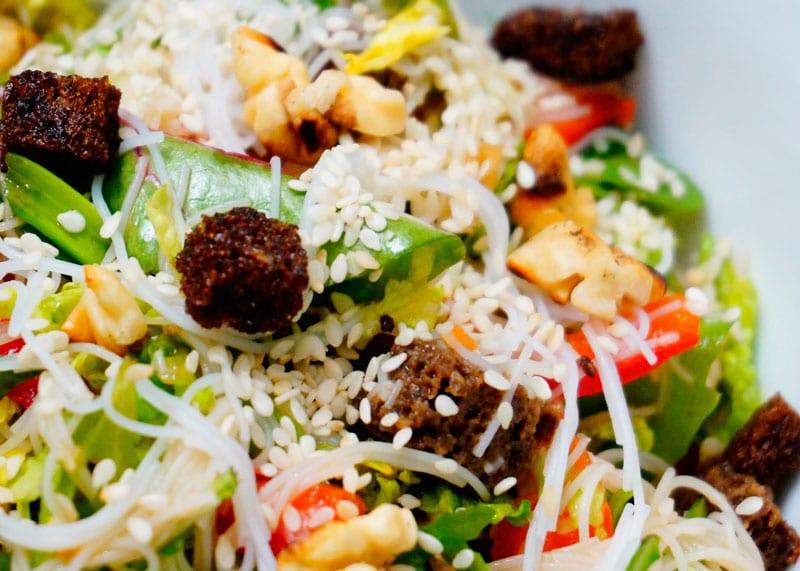 Азиатский рецепт салата из овощей фото
