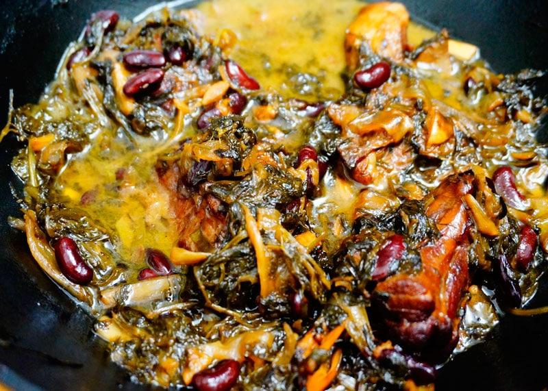 Рецепт баранины горме сабзи фото