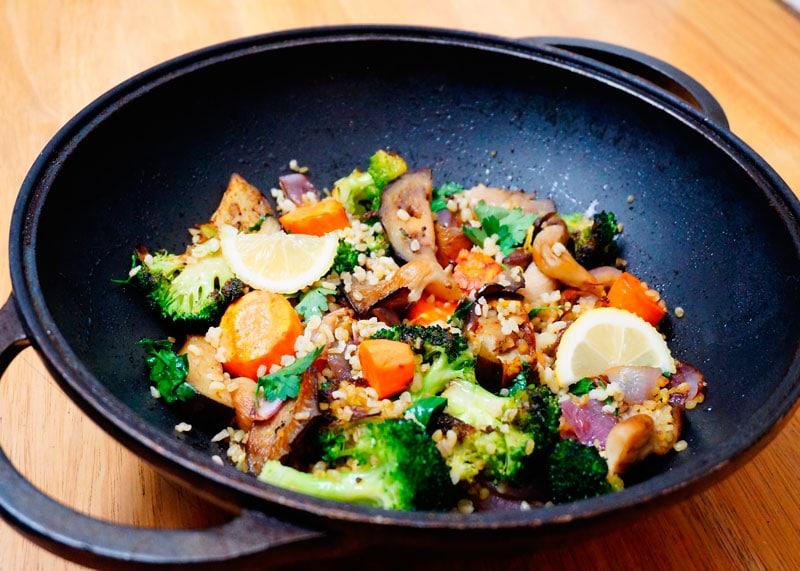 Булгур с овощами рецепт приготовления фото