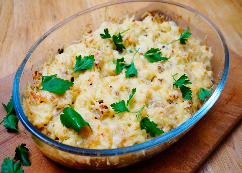 Рецепт гратена из картофеля и цветной капусты фото