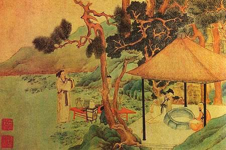 История зеленого чая в японии фото