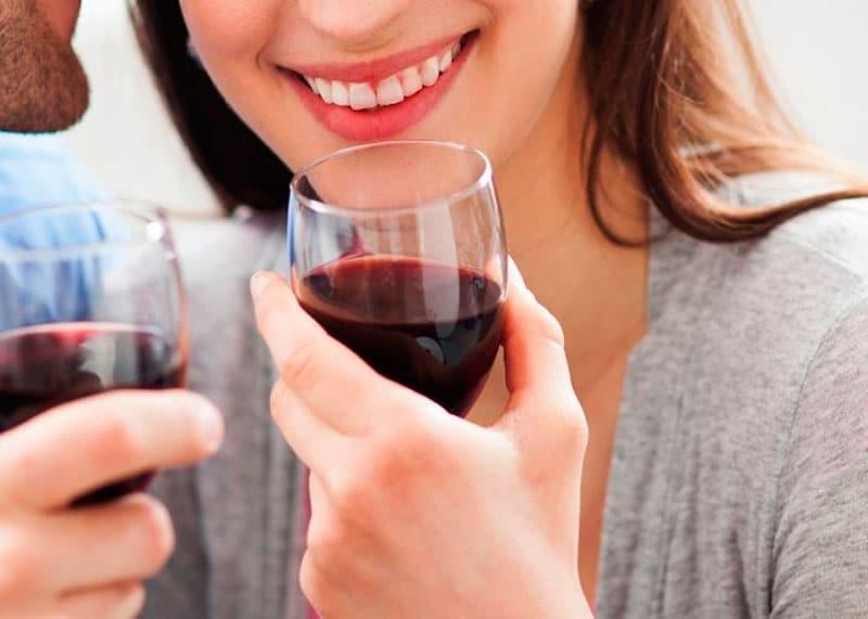 Вино и его польза для зубов фото