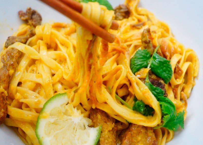 Рецепт лапши Кхао Сои фото