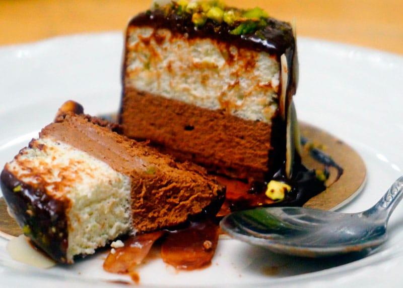 Рецепт пирожного с муссом фото