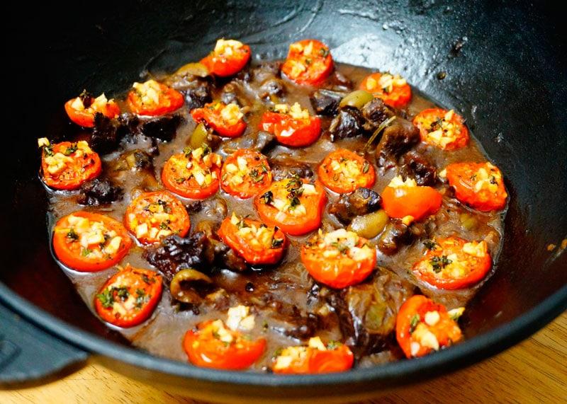 Рагу из говядины по-сицилийски рецепт фото