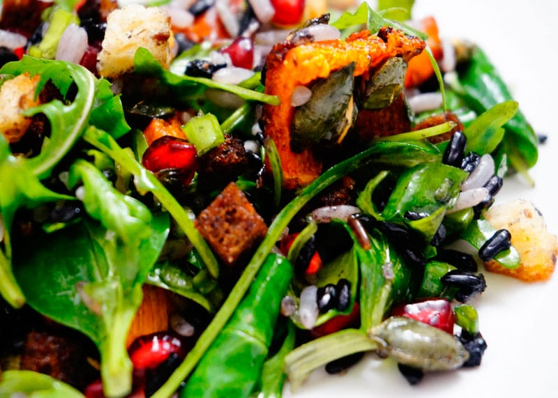 Салат из риса и тыквы фото