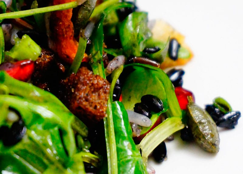 Салат из трех видов риса рецепт фото