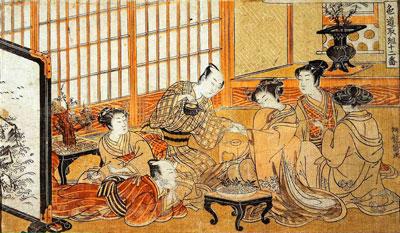 Японская чайная церемония фото