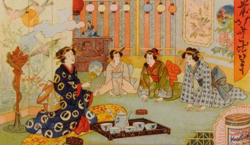 Приготовление чая Япония фото