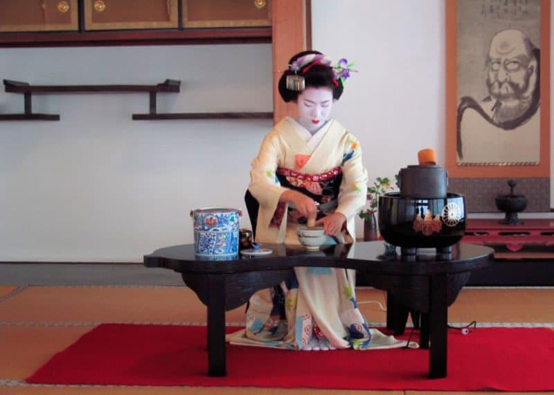Как готовят чай в Японии фото