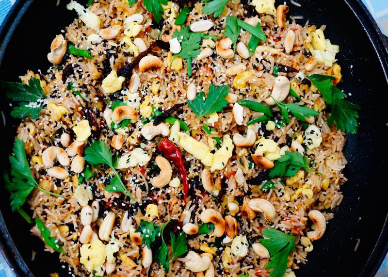 Рецепт риса с вялеными томатами фото