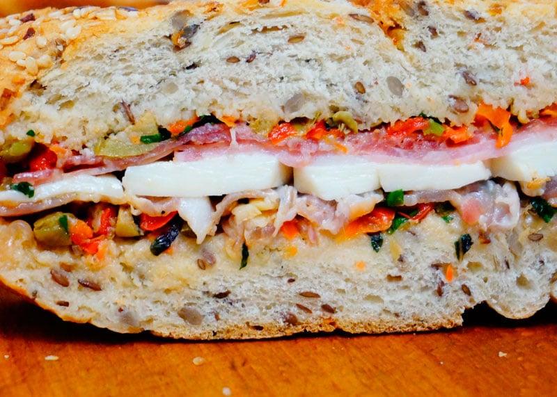 Рецепт сэндвичей из муфулетты фото