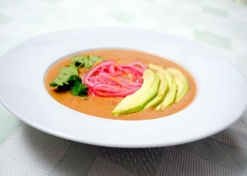 Суп из черной фасоли рецепт фото