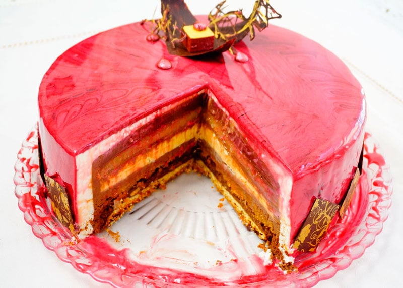 Муссовый торт антреме ендерум фото